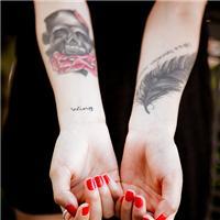 纹身刺青伤感图片
