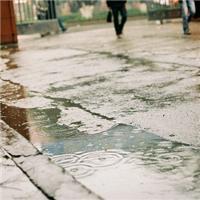 雨天唯美意境伤感图片