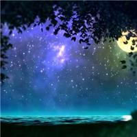 夜晚星空图片_美丽唯美的夜晚星空图片