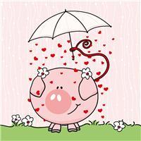 猪图片大全可爱图片:猪的图片卡通可爱