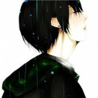 悲伤的侧脸动漫图片:动漫流泪到泪脸颊图片