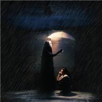 讨厌黑夜的图片:害怕天黑的带字图片