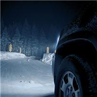 冬天夜晚的户外图片 冬天夜晚图片景色