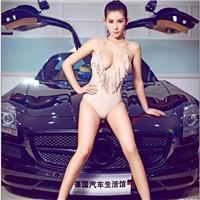上海车模李雅照片 车模后台私密生活