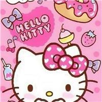 kitty猫图片粉色壁纸 kitty猫图片苹果6壁纸