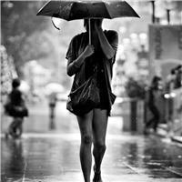 都市雨景图片唯美意境