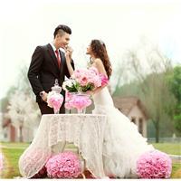 结婚照片图唯美图片