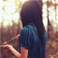 落寞背影图片女生