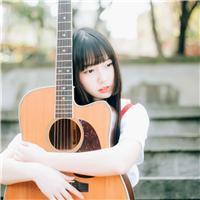 吉他美女图片大全唯美