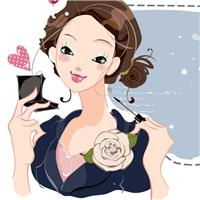 优雅女人图片卡通图片