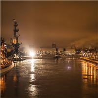 夜深人静的城市图片