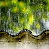 春天雨景图片唯美意境 雨景唯美图片