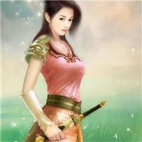 卡通古装美女头像手绘 卡通古代美女头像