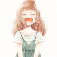 哭着微笑唯美的图片 笑到流泪的漫画图片