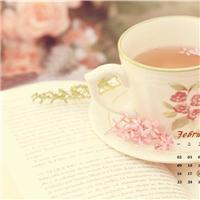 一杯茶一本书一抹阳光图片