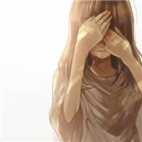 伤感系女生头像 流泪 哭泣少女