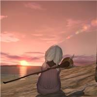 一个人看日出