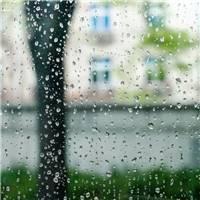 北京下雨的图片