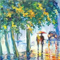 雨中漫步其实我喜欢一个人独自在雨中漫步