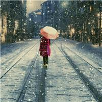 风雨中的那把伞