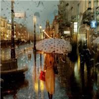 即使你在雨中流泪的时候,也不会让我看见