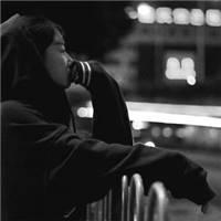夜深人静图片 一个人