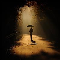 有些路,只能一个人走,路上的艰辛,只有自己知道.