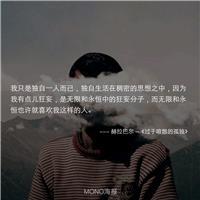 孤单是一个人的狂欢,狂欢是一个人的孤单