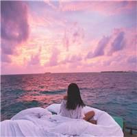 理想生活状态: 衣食无忧 每天睡到自然醒 醒来后被萌宠治愈 有最爱的#女生#背影#夕阳#风景#大海