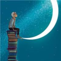 一个人独处的世界#卡通#书本