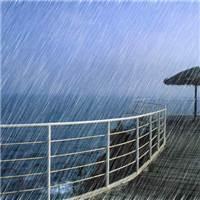 下雨的时候#海边