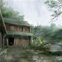 清明节雨纷纷图片#乡村#古风#森系
