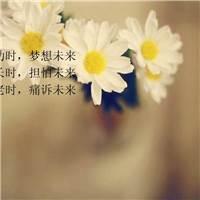 幼时,梦想未来   长时,担怕未来   老时,痛诉未来#花草#小清新#文字控