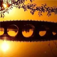 你的盼望,是我握在手中小小的太阳.#湖水#夕阳