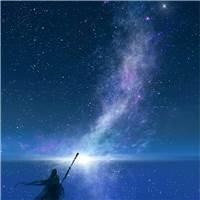 渺茫的希望在心里不断缩小,光明也逐渐消失#古风#星空