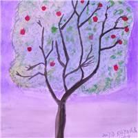 希望之树#手绘#卡通