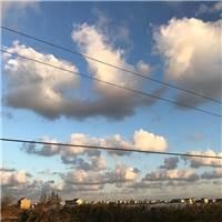 一早就无趣#天空#白云