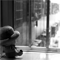 窗里窗外#黑白#卡通