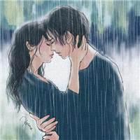 一个人的心里可以同时装下两个人吗#二次元#手绘#情侣