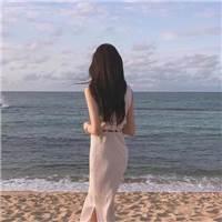 我们都会有最无助的那一瞬失落绝望 看着灯光熄灭 却没有人陪在身边#女生#背影#海边