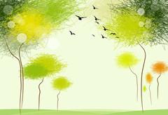 无论你今天怎么用力,明天的落叶还是会飘下来